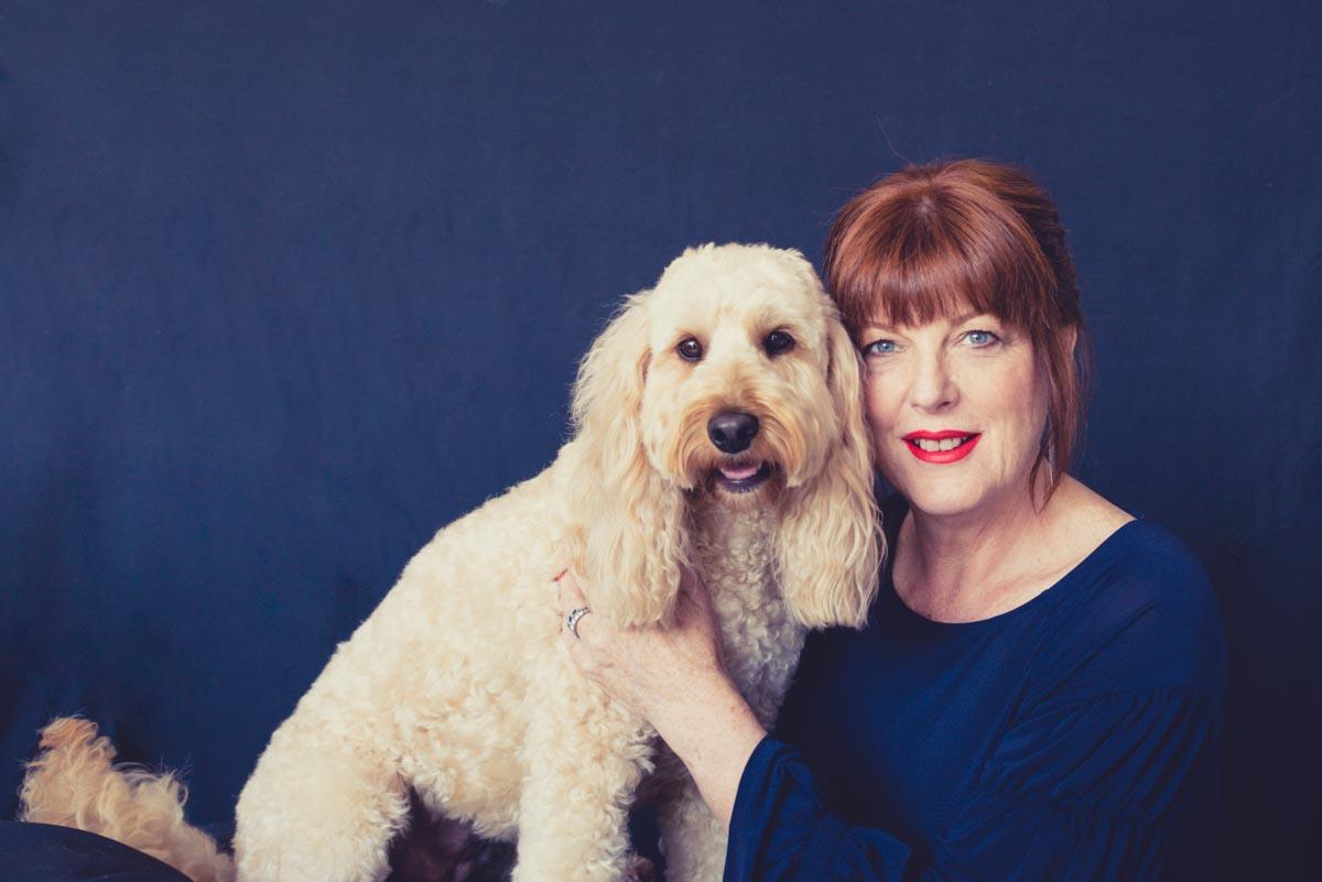 dog and owner photoshoot