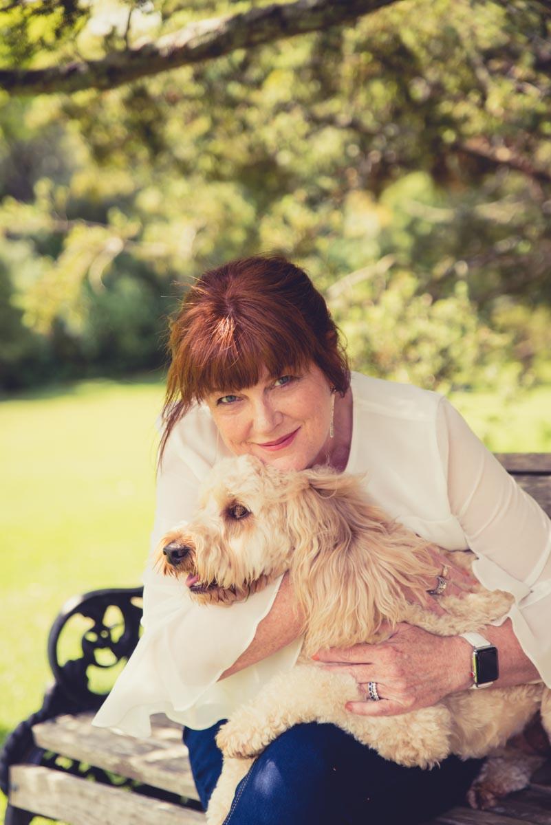 auckland domain dog photo