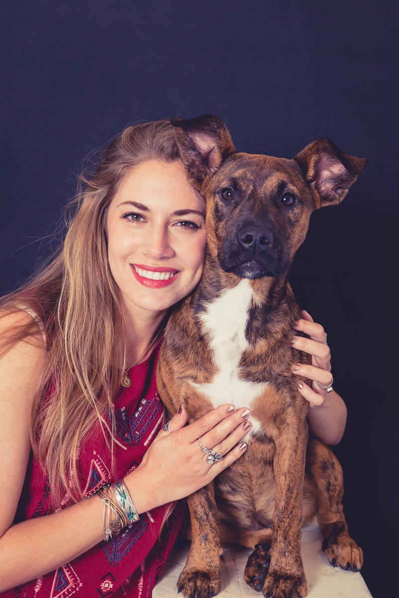 lady and dog photographer near auckland