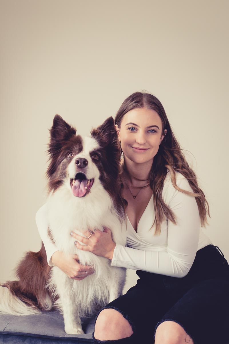 dog and owner photographer auckland
