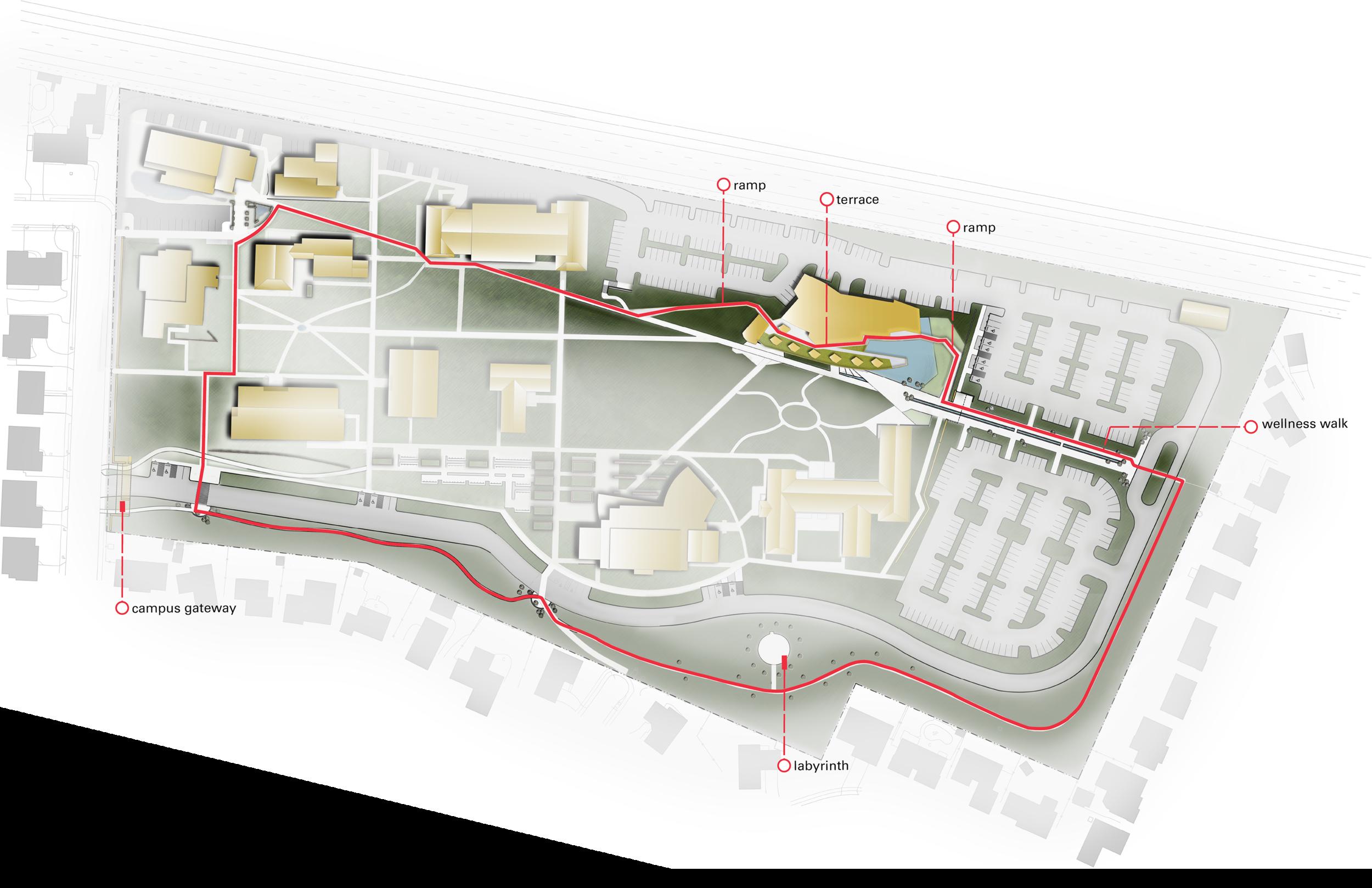 Campus Circuit Path