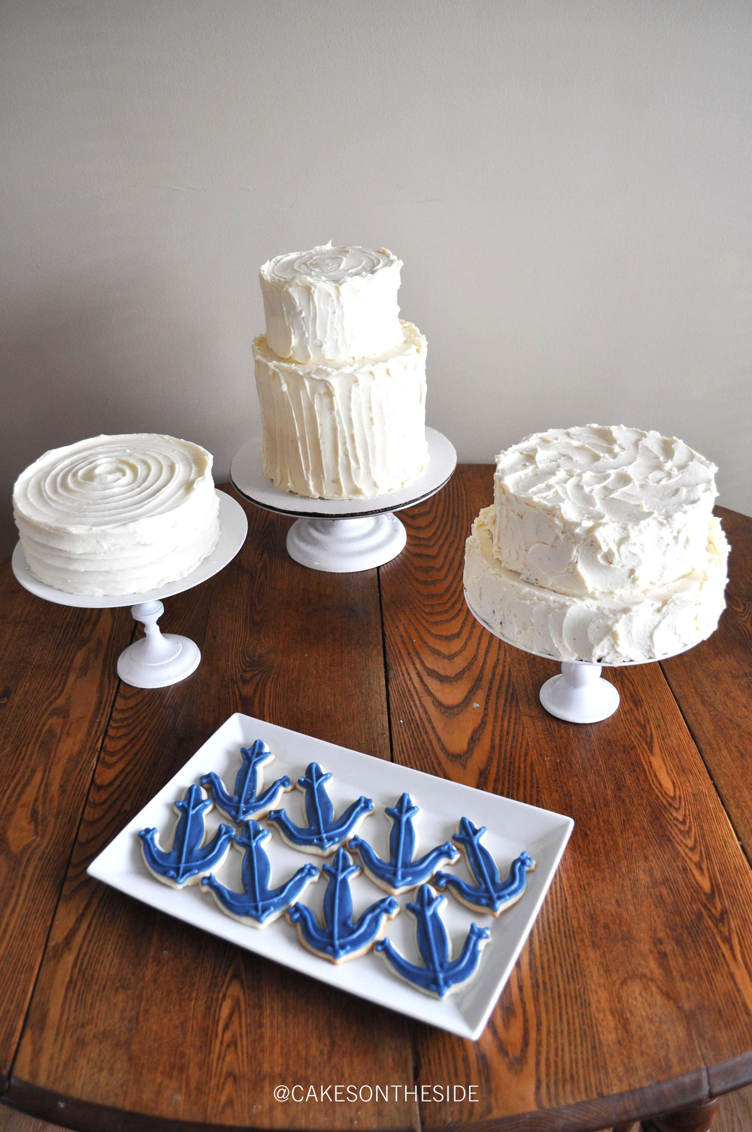 Wedding Cake Trio - With Cookies