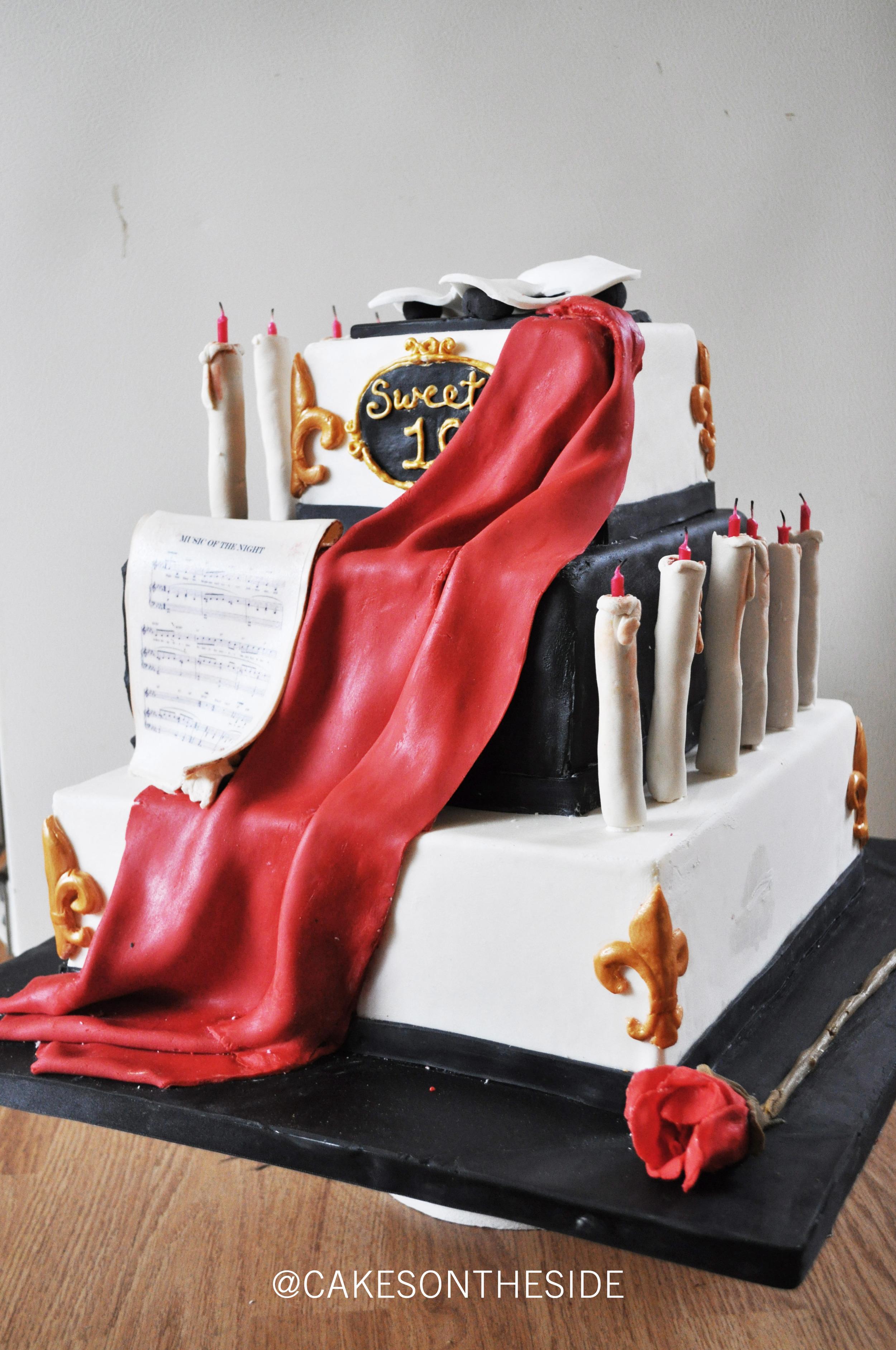 Birthday Cake - Phantom of The Opera