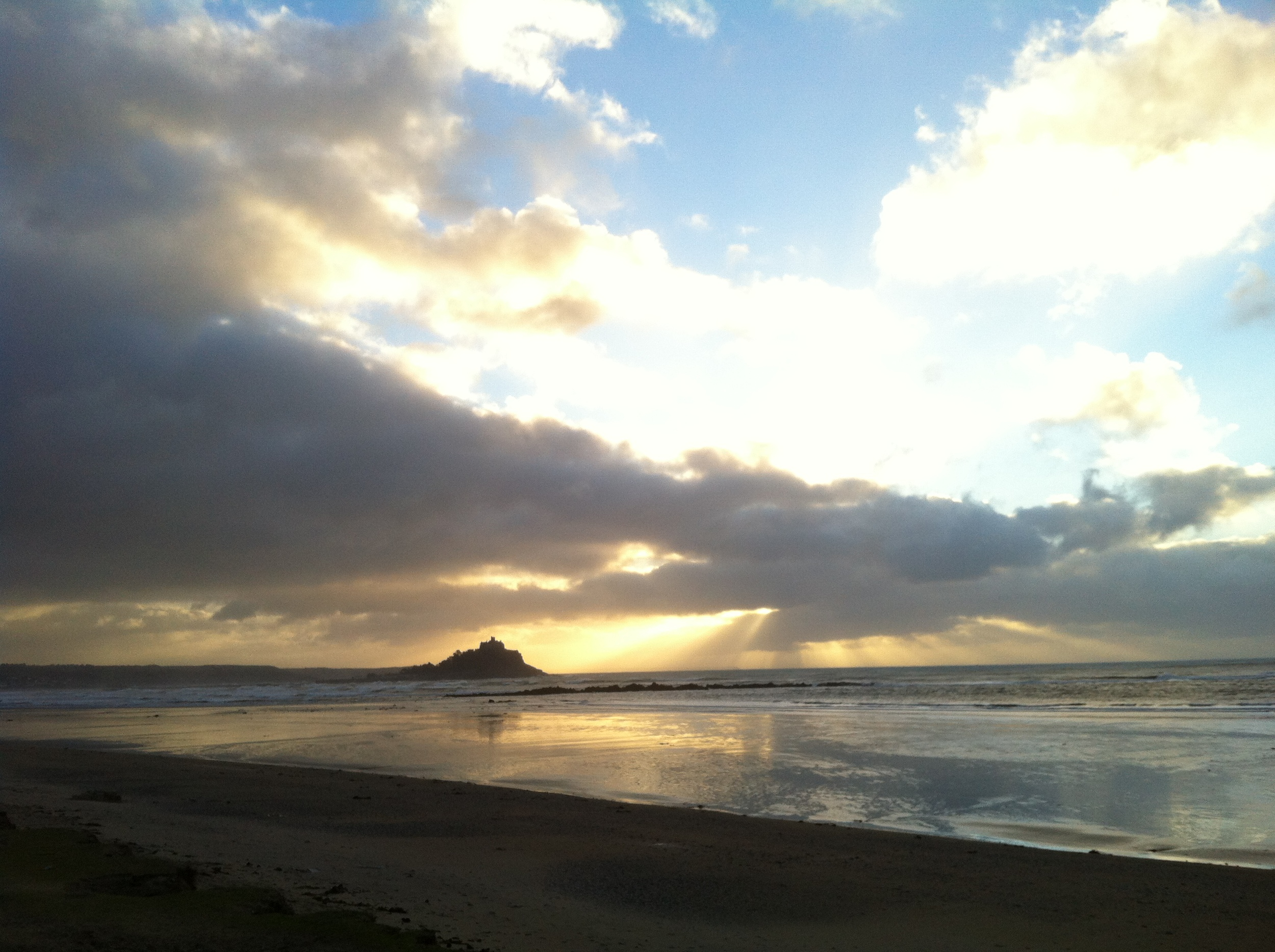 A December morning at St Michaels Mount