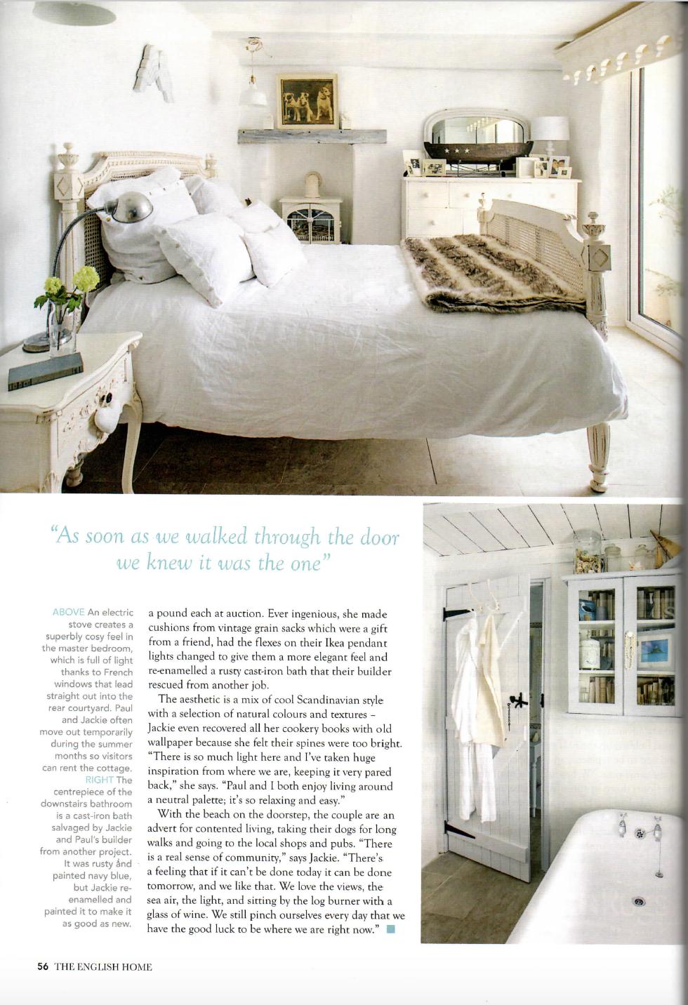 Carvossa in English Homes magazine