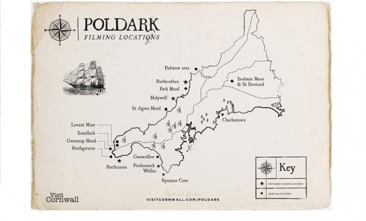 9. Explore Poldark - If surfing isn't your thing but you're a fan of the hit BBC drama Poldark you can explore the locations used during its filming. A lot of these locations aren't far from Marazion such as Gunwalloe Church Cove, a short drive away and situated in the nearby Lizard Peninsula.