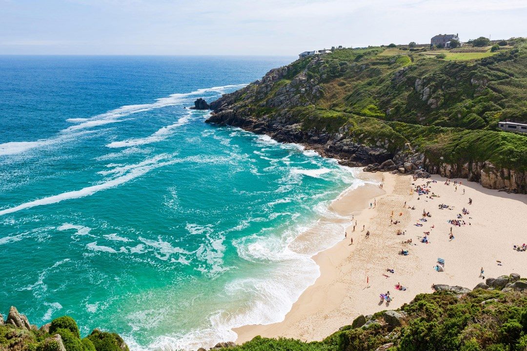 3. Glorious Beaches - Marazion is situated just opposite in Mount's Bay, meaning a sandy beach is always on your doorstep. However idyllic beaches such as Perranuthnoe and Prussia Cove are only a short walk away; Carbis Bay and Porthcurno are only a brief car journey away. Take your pick!