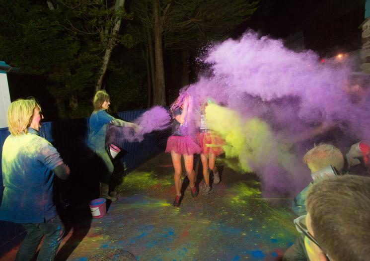 1. The Night of Neon Colour Fun Run - On Saturday the 14th of October Flambards Theme Park is hosting a neon paint night-time fun run to raise money for Cornwall Hospice Care.The 4k run goes throughout the theme park and promises to have plenty of paint stations to ensure you end up really glowing in the dark!All the money raised goes to a great cause and the event is loads of fun;well worth your time.More info: cornwallhospicecare.ritdns.com/Event/neon-2017