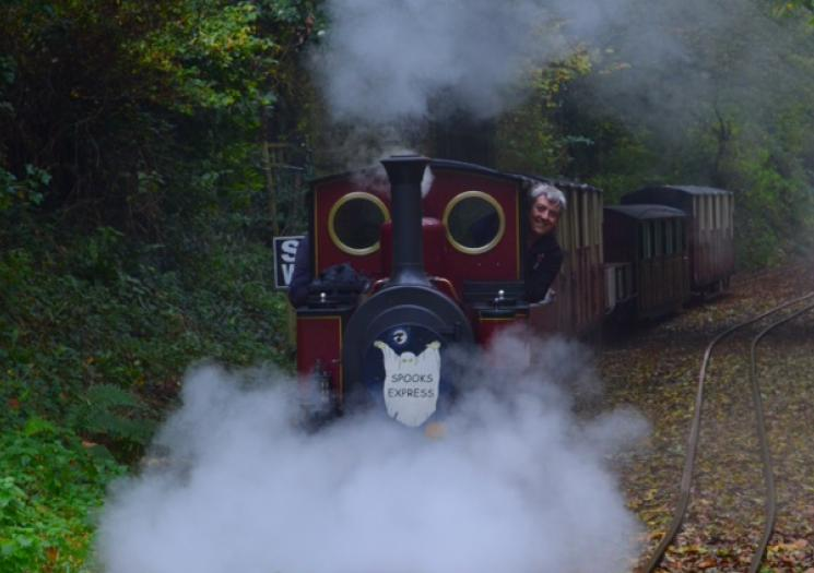 4. The Spooks Express at Lappa Valley - For some family friendly Halloween fun in the run up to Halloween itself visit the Spooks Express at Lappa Valley.There's a Halloween quiz, spooky colouring activities and a prize for everyone who comes in fancy dress!What's great about this event is that all the additional activities are included in the standard ticket price of the park.More info:http://www.lappavalley.co.uk/?utm_medium=referral&utm_source=visitcornwall.com&utm_campaign=listing