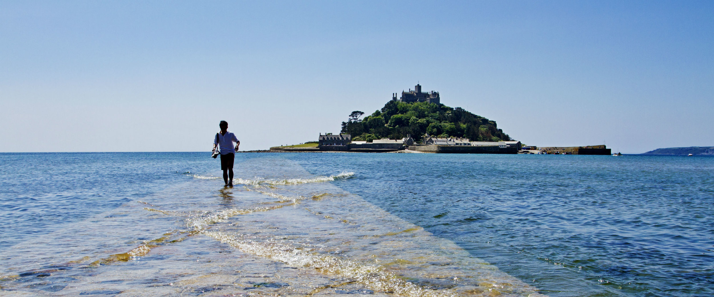 1. St Michael's Mount - An imposing sight with an amazingly rich history sits just 400 yards away from Marazion across the bay. It's an unmissable place to visit during your stay. The National Trust protected site has stunning gardens, unique geology and prominent atop the mount is a 12th century living castle.