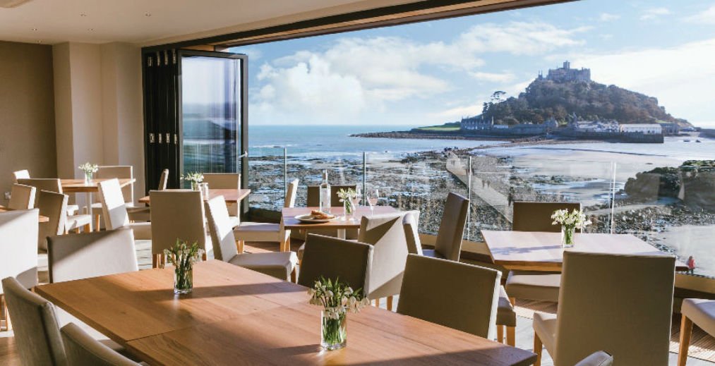 5. Multiple-Award-Winning Restaurants  - After a long day of exploring there is nothing  better than resting and recharging whilst eating some excellent food. Luckily, Marazion plays host to several award winning restaurants that range from traditional pub food to freshly caught Cornish seafood dishes. Ben's Cornish Kitchen has previously won Regional Restaurant of the Year whilst the Godolphin Arms has won a gold standard in the Taste of South West England awards. These two are a must-visit during your stay. They create amazing dishes with locally sourced ingredients it's no wonder they've both been featured in leading national newspapers!