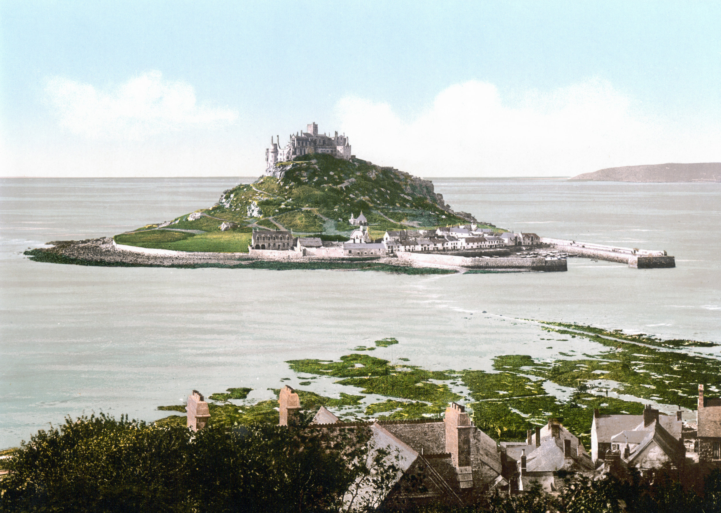 1. St Michael's Mount - On your doorstep is an amazing and unique place to explore. An imposing sight with an amazingly rich history sits just 400 yards away from Marazion across the bay. It's an unmissable place to visit during your stay.Whilst the castle and gardens are closed until March, a visit here with a walk over to the Mount and stroll around the quaint harbour is a must.