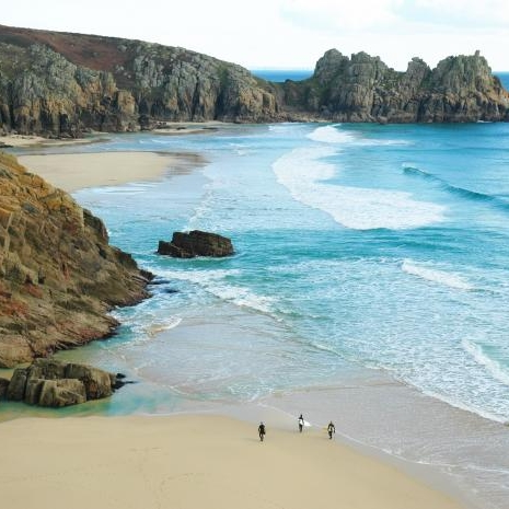 2. Visit the Beaches - In every direction from Marazion there are incredible beaches. On your doorstep is Mount's Bay but with coasts in each direction an amazing beach won't be hard to find.Porthcurno (pictured) is just a short journey from Marazion and, as you can see, is a sight to behold!