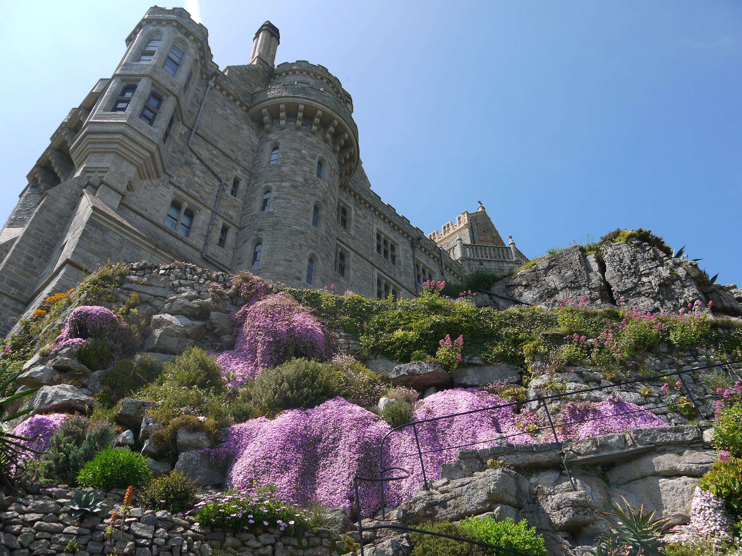 4. The Gardens at St Michael's Mount - As the summer starts to get into full swing the gardens at St Michael's Mount become open to the public and are spectacular to explore.The tropical weather means the island can host many rare species of flowers that would struggle to grow outside anywhere else in the UK!