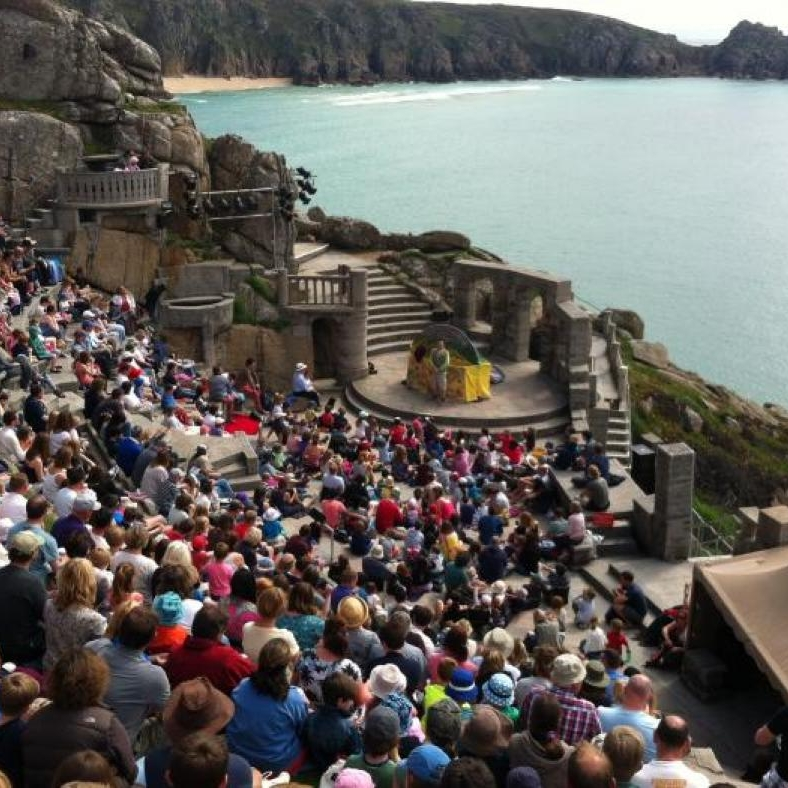 6. The Minack Theatre - The Minack is a world renown open-air theatre featuring a stunning backdrop of the Cornish coast. During the summer months it becomes an active theatre with several performances a week in the evenings. However, even if you are unable to get tickets, the beautiful theatre is worth visiting even when there isn't a performance on!