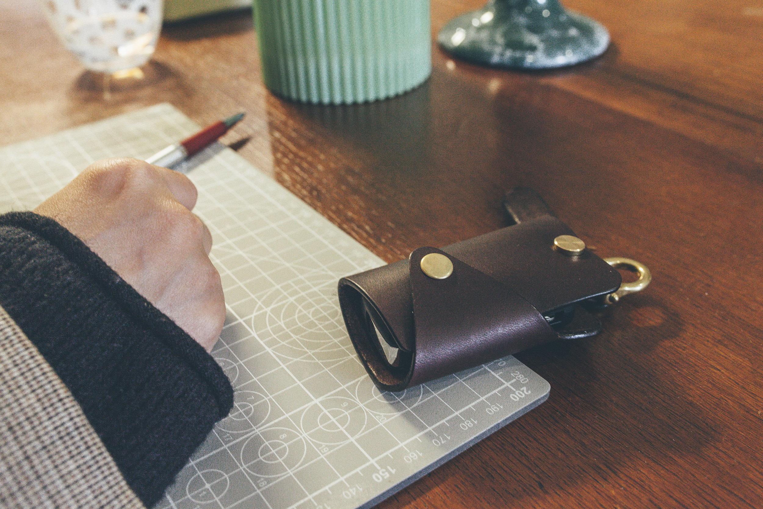 馬蹄環單釦鑰匙包