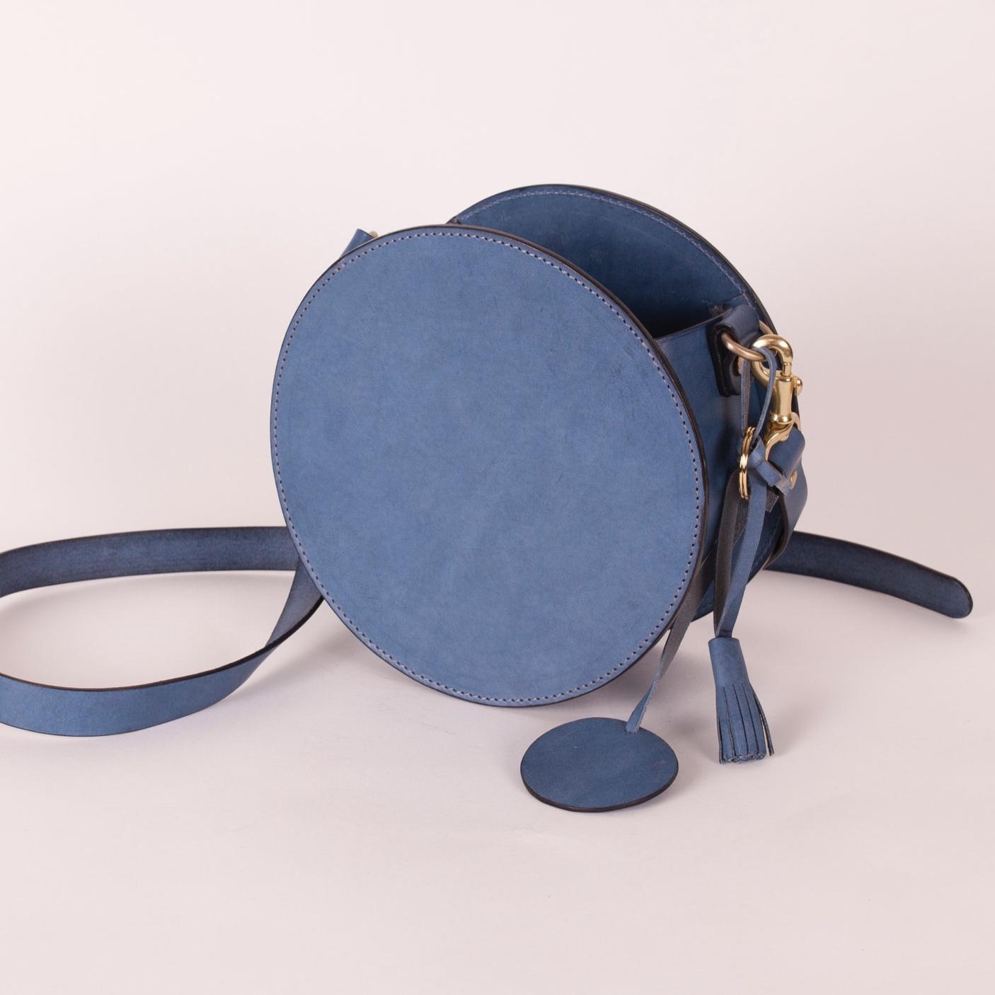 小圓側背包