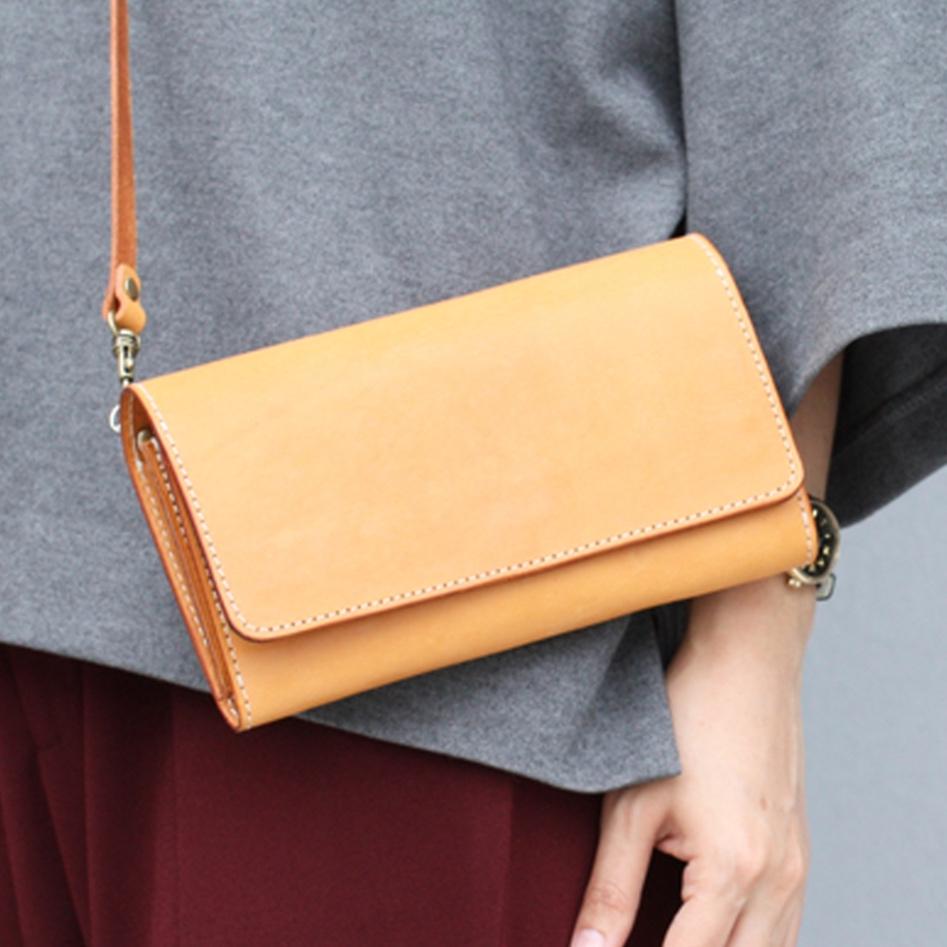 長夾側背包