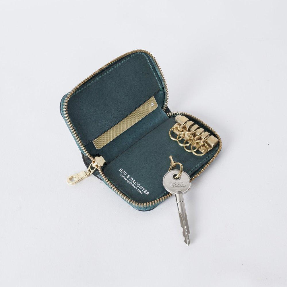 拉鍊鑰匙包