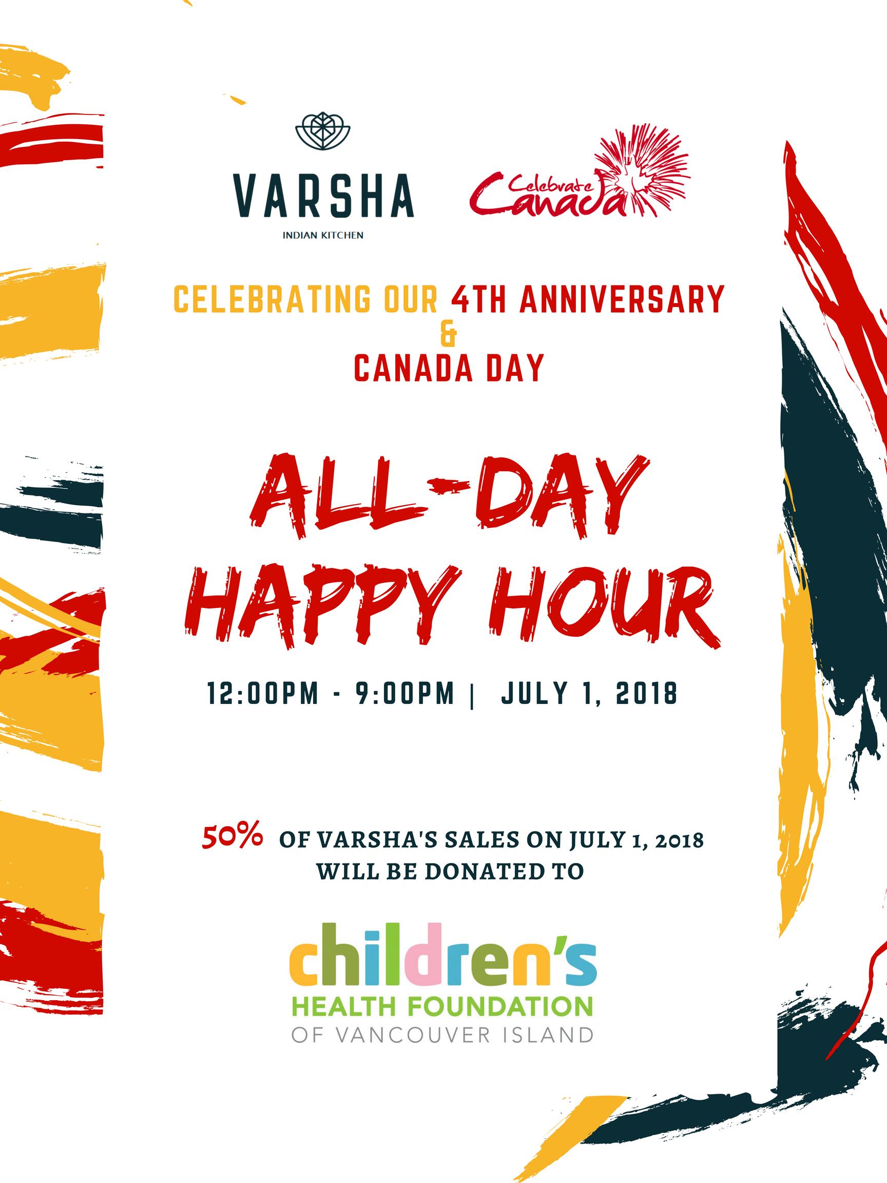 New Events — Varsha l Indian Food Victoria, BC