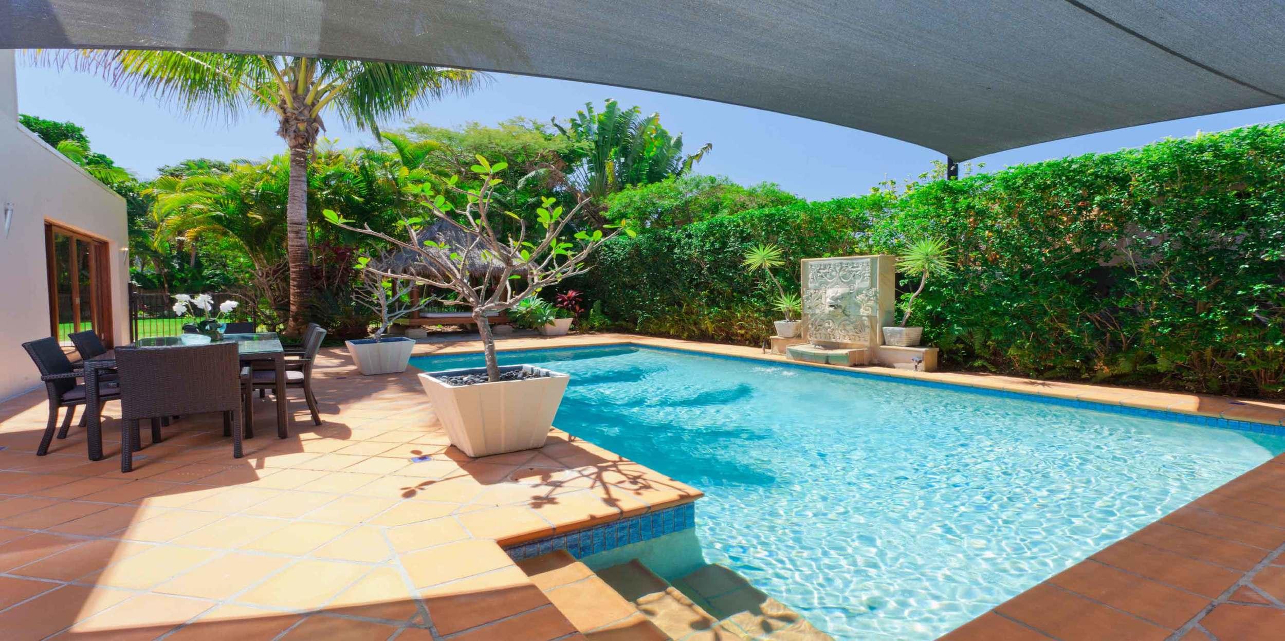 quality custom designed pools