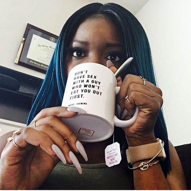 There are 10 these mugs left until they are sold out. Thank You to all of the cool ass black girls who've invested in my brand. I appreciate the black and brown women who've made my business real. We are not in competition, we're in business.