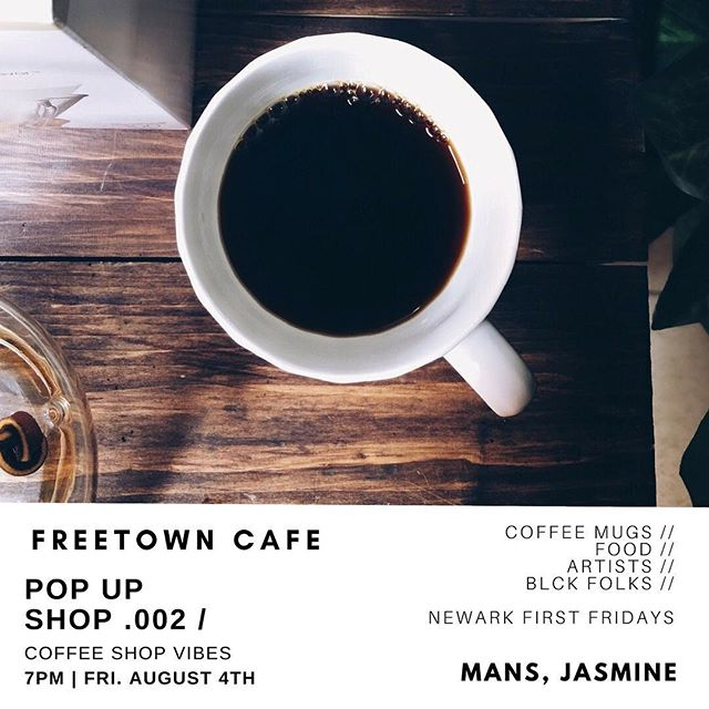 Come vibe out and drink coffee with some good creatives. Buy a mug and get some free coffee.