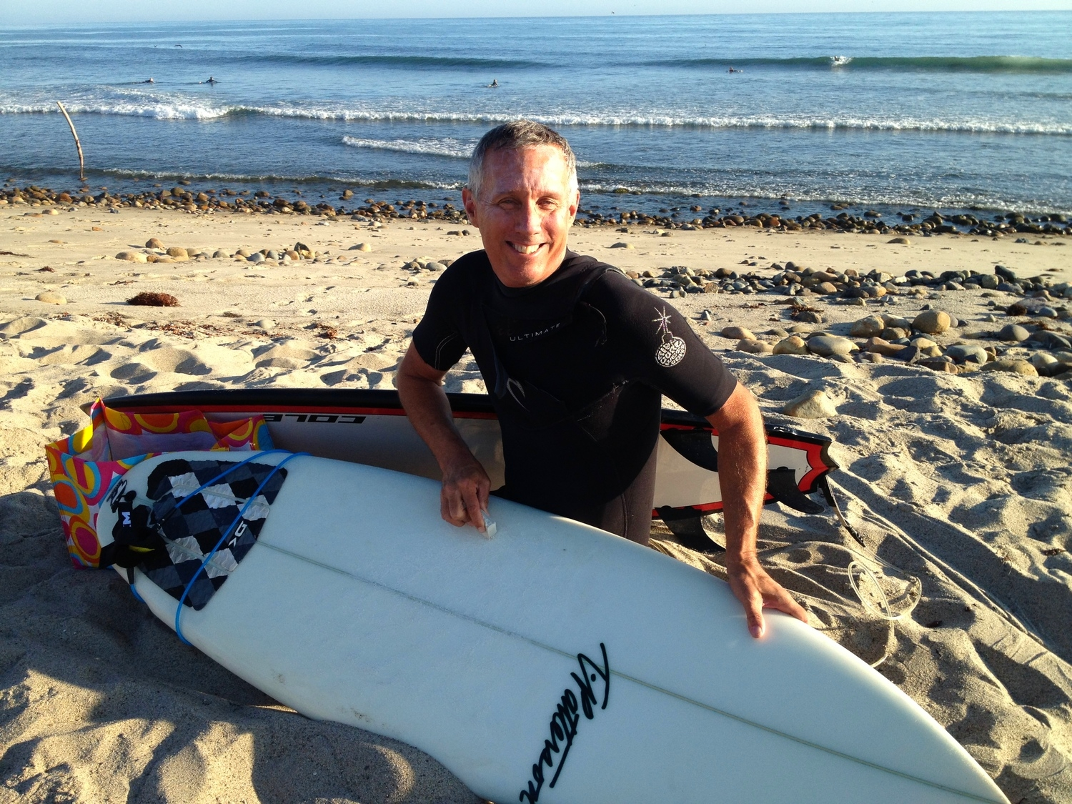 YFS Co-founder David Hall will make sure you get into plenty of  fun waves, no matter your experience