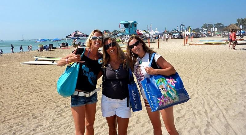 Famous Doheny Beach in Dana Point is minutes from our TEacher TRaining Location!