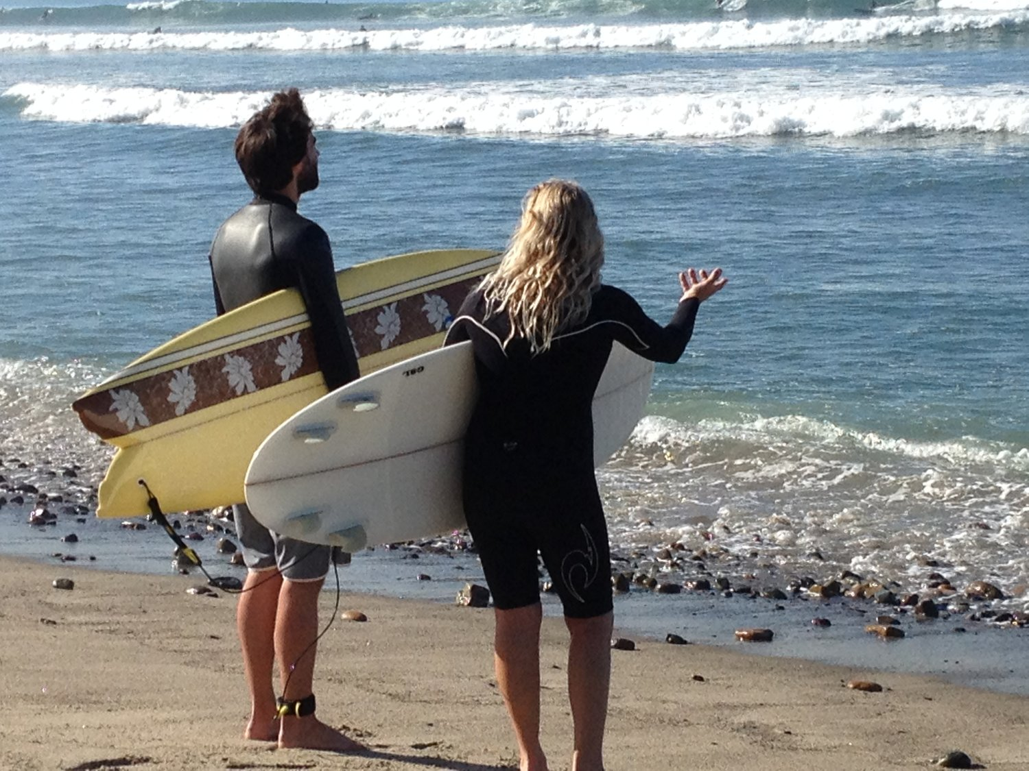 You even get surf coaching from the pros!
