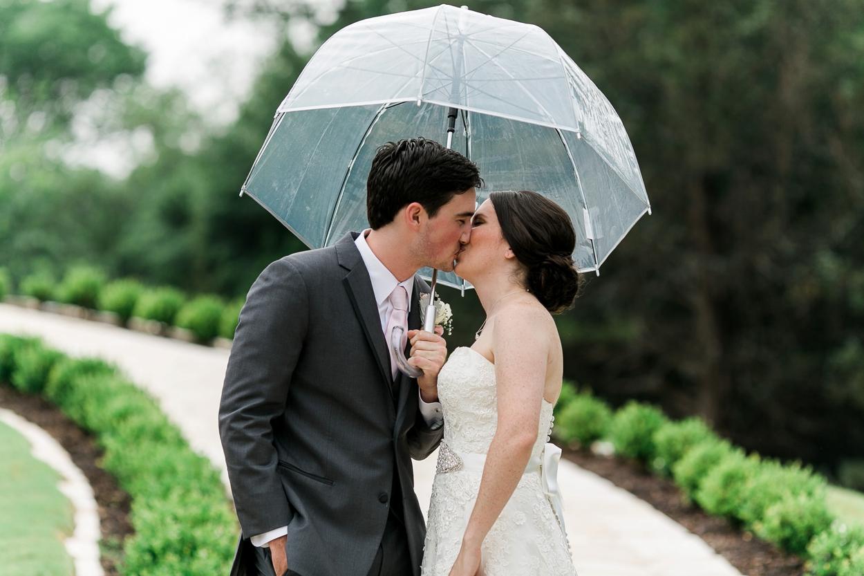 rainy wedding photos the springs events