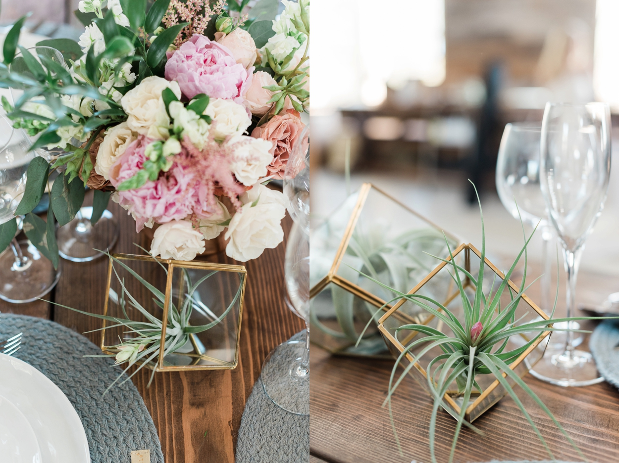 air plant decor wedding