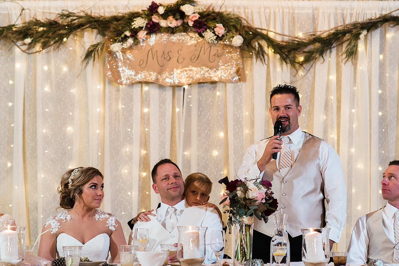 wedding reception at tulsa winter wedding