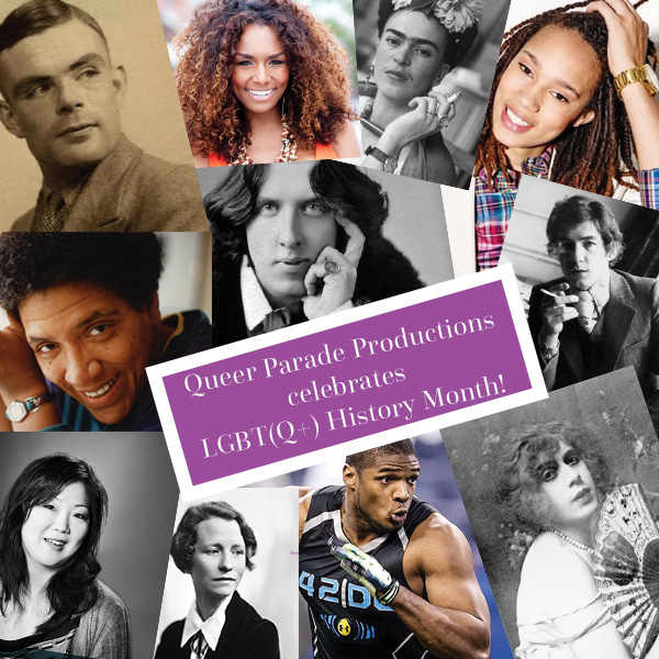 Queer Parade Productions celebrates LGBT History Month