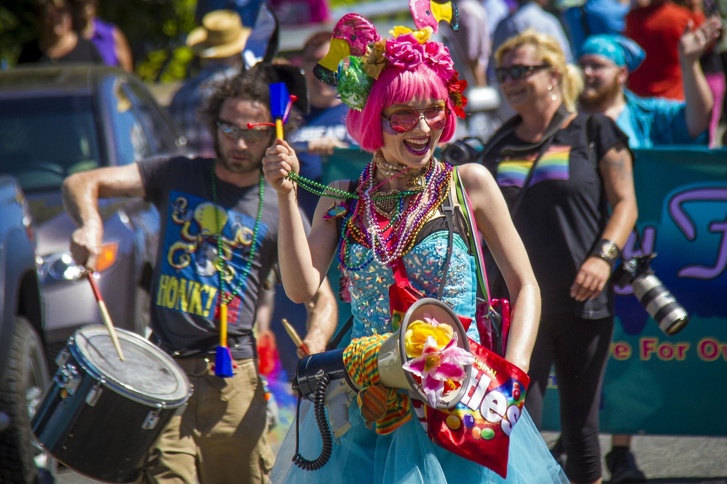 1st Annual Queer Pride Parade, August 2014 by David Welton