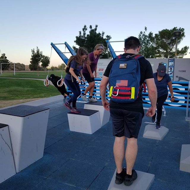 Mutha Ruckers invaded the Becoming Badass Bootcamp held at the Palmdale Fitness Court. Great job! #ruckingchallenge #ruckclub #invasionruck