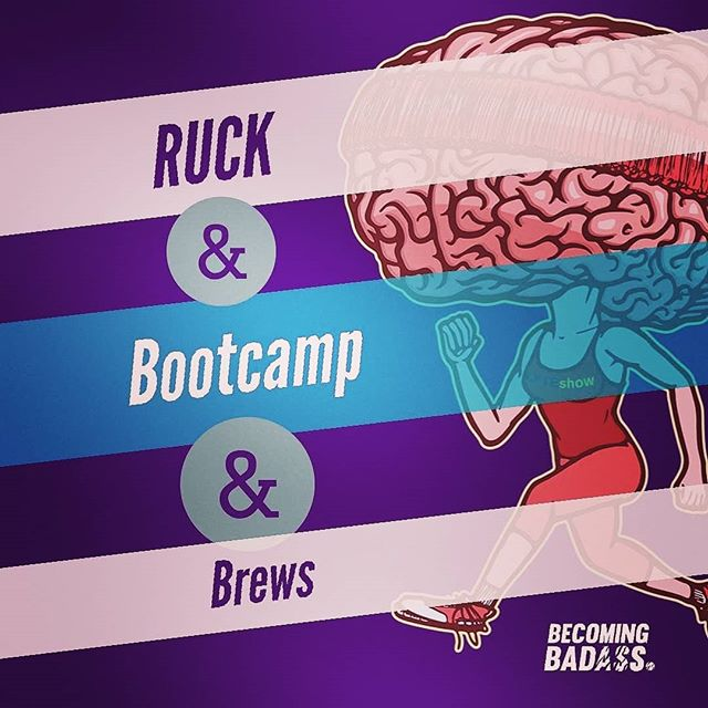 We are back! Leaving Becoming Badass Training Center Sunday at 11:30 AM to ruck 3 miles to Transplants Brewery where we will do the Bootcamp and Brews workout (which starts at 1pm)