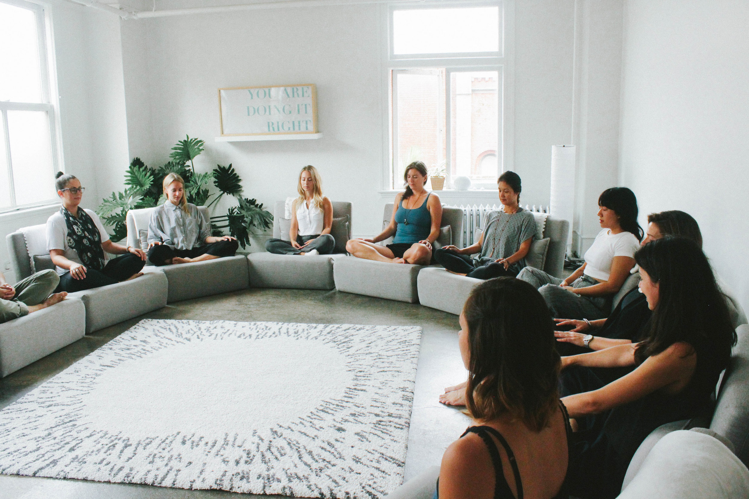 This training was one of those life-shifting experiences. Every second was filled with intense concentration / big laughter / gentle mindfulness / curious investigation.
