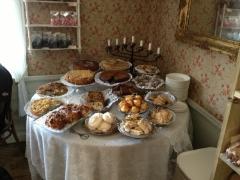 Delicious pastries and desserts in Skansen