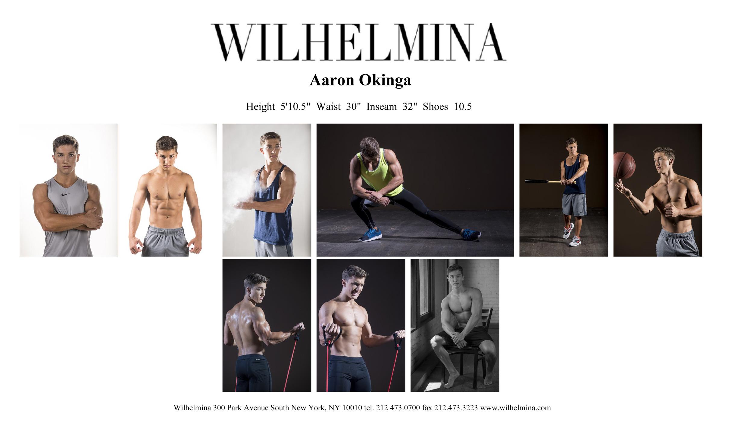 Wilhelmina Test Shoot