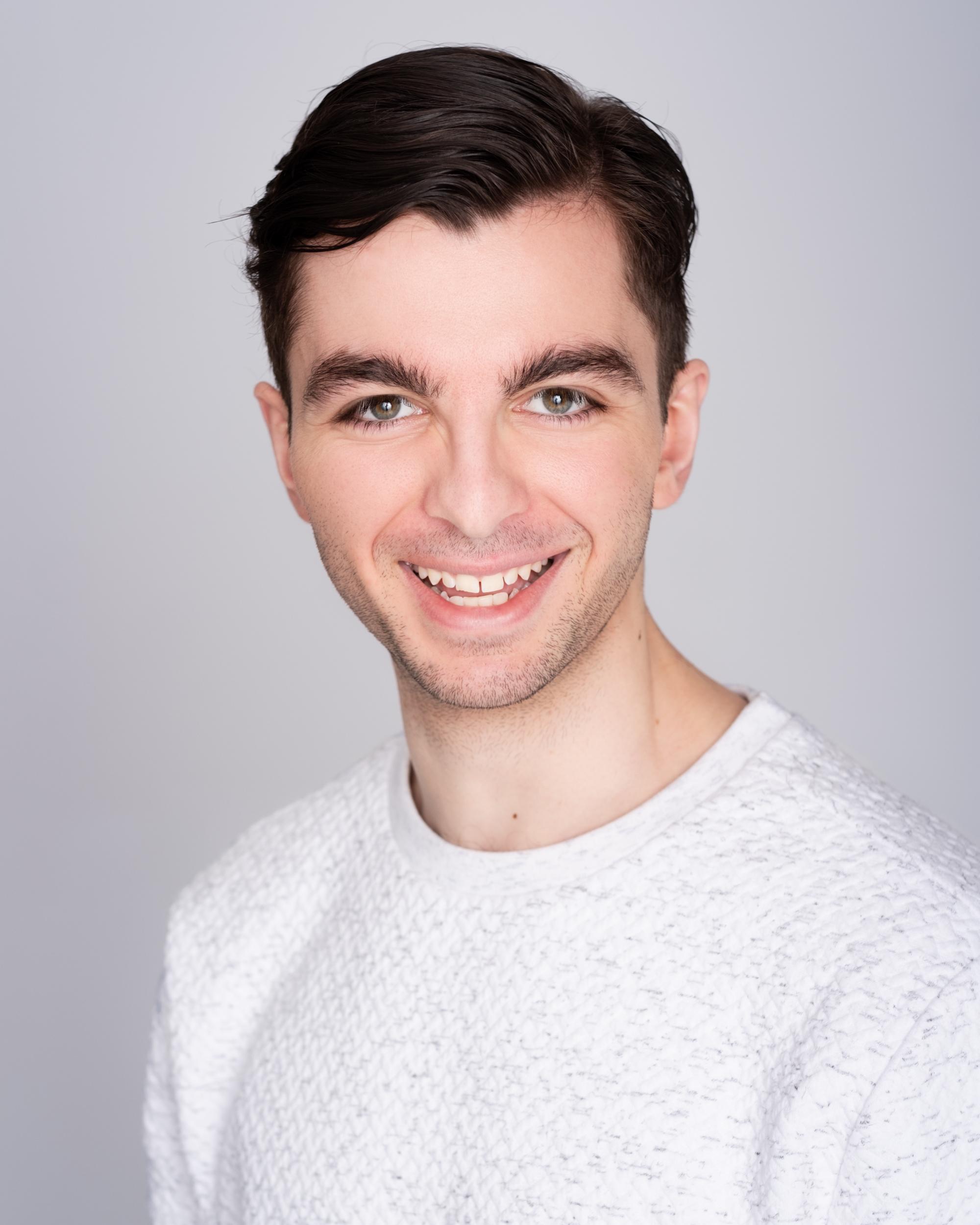 Alex Hatzikostas Melbourne Actors Headshot