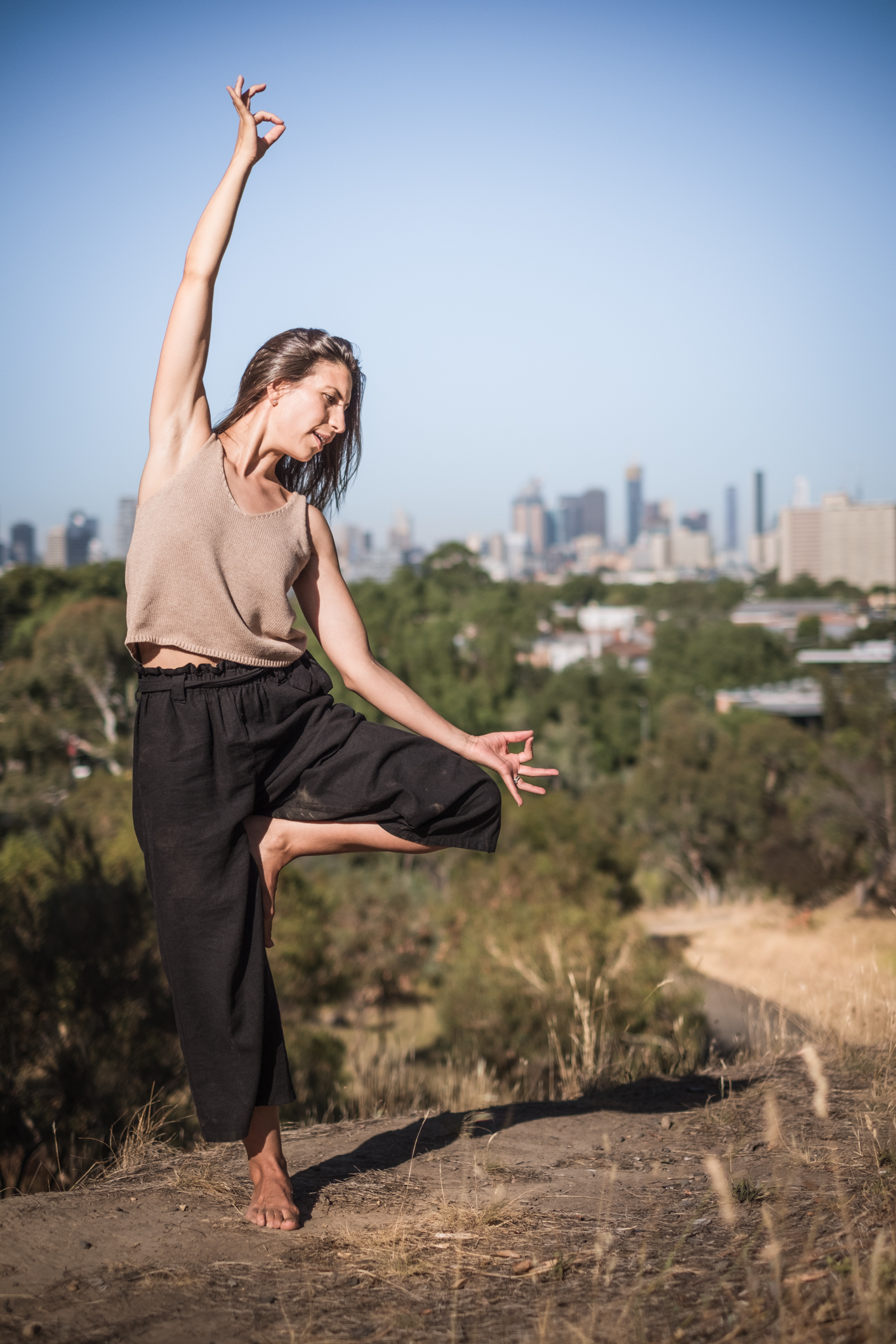 Melbourne Yoga Photography - In the Wild