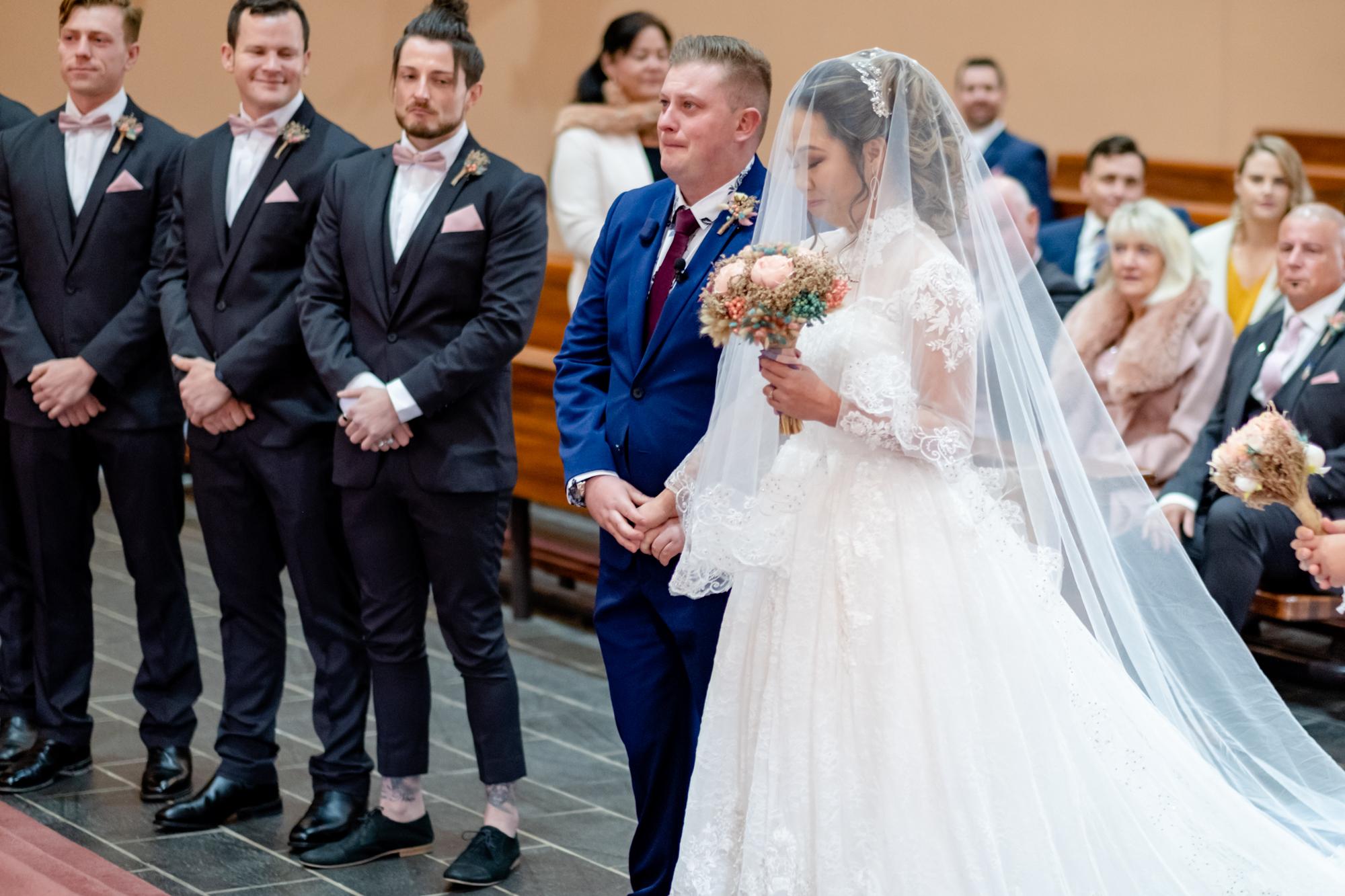 Bridal Party - Francesca and Callum - Albury Wedding Photography