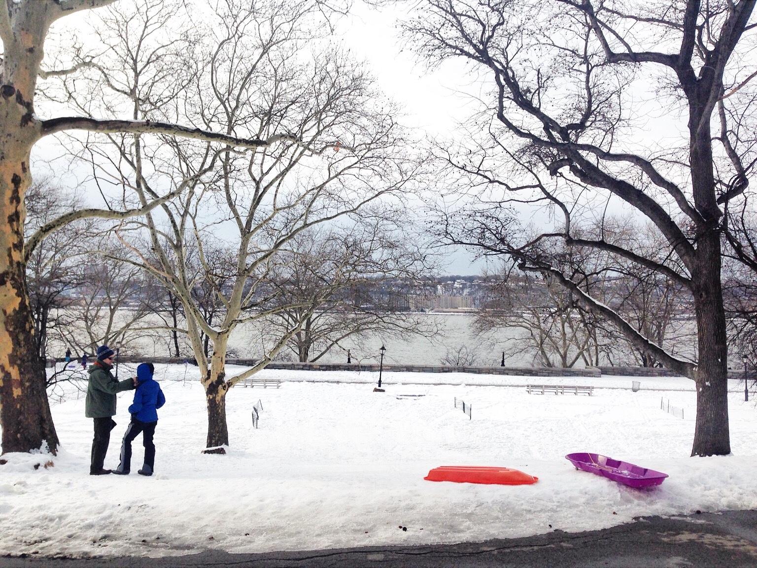 Riverside Park, New York