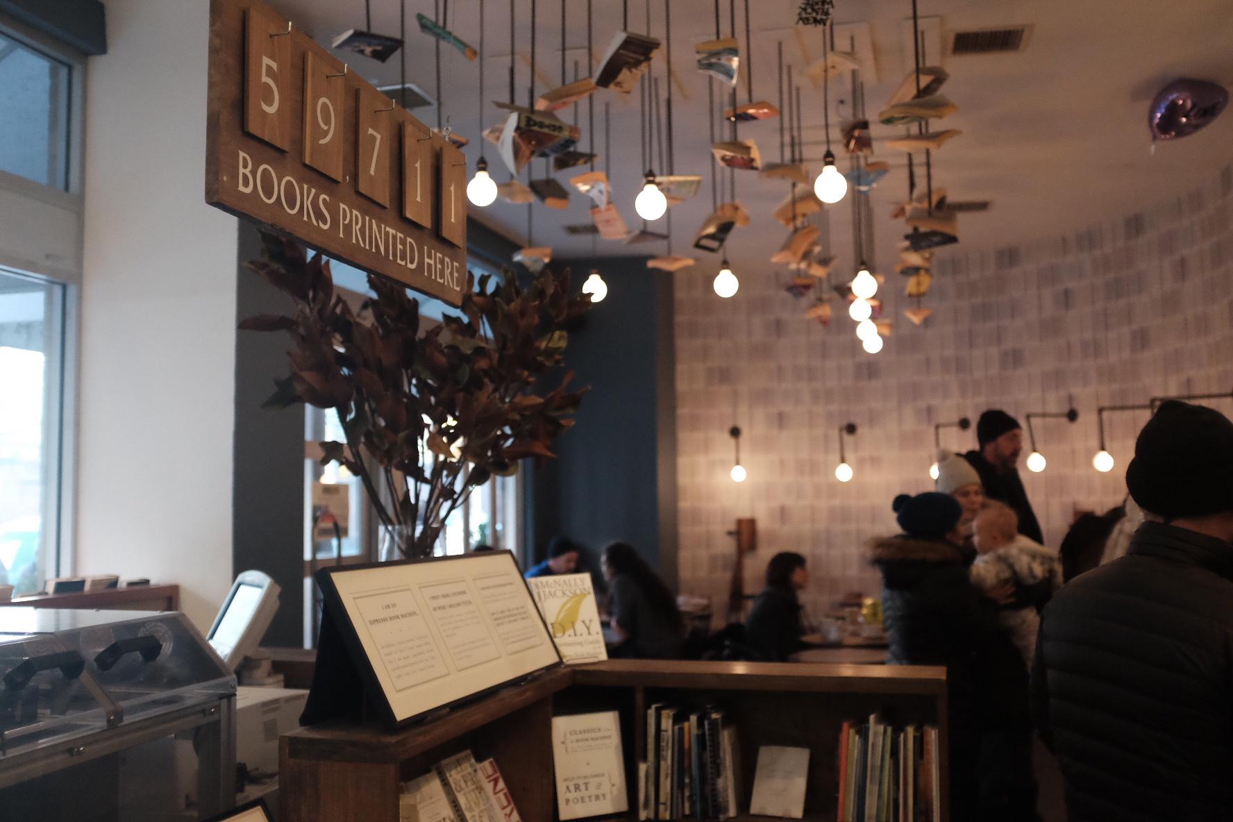 Cafe at McNally Jackson Books   Photo: Jinglu Huang