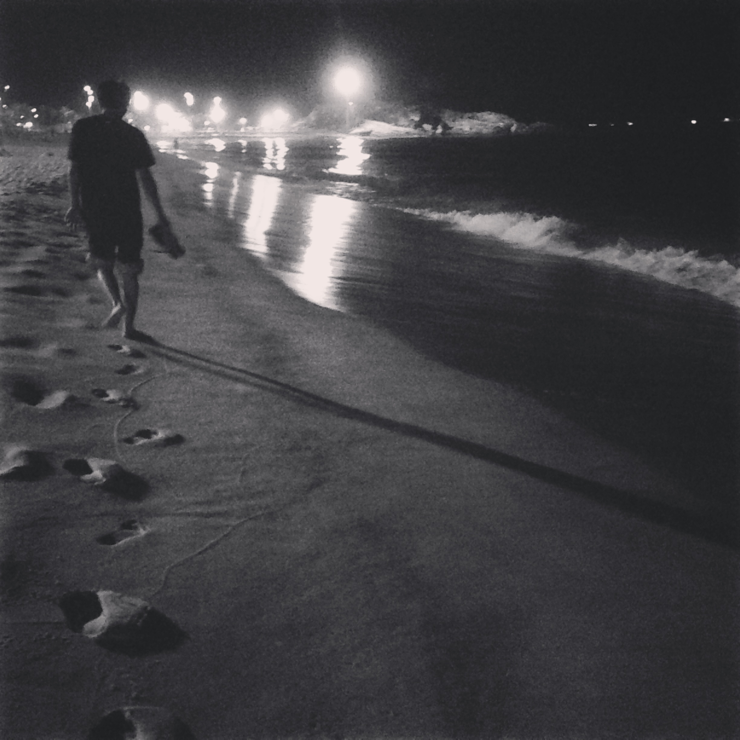 Night by the sea