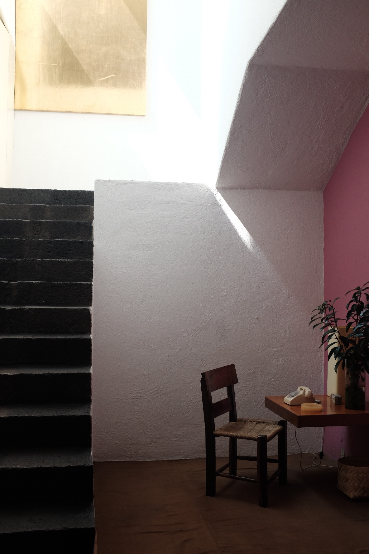 Entry Foyer @ Luis Barragán House and Studio  | Photo: Jinglu Huang