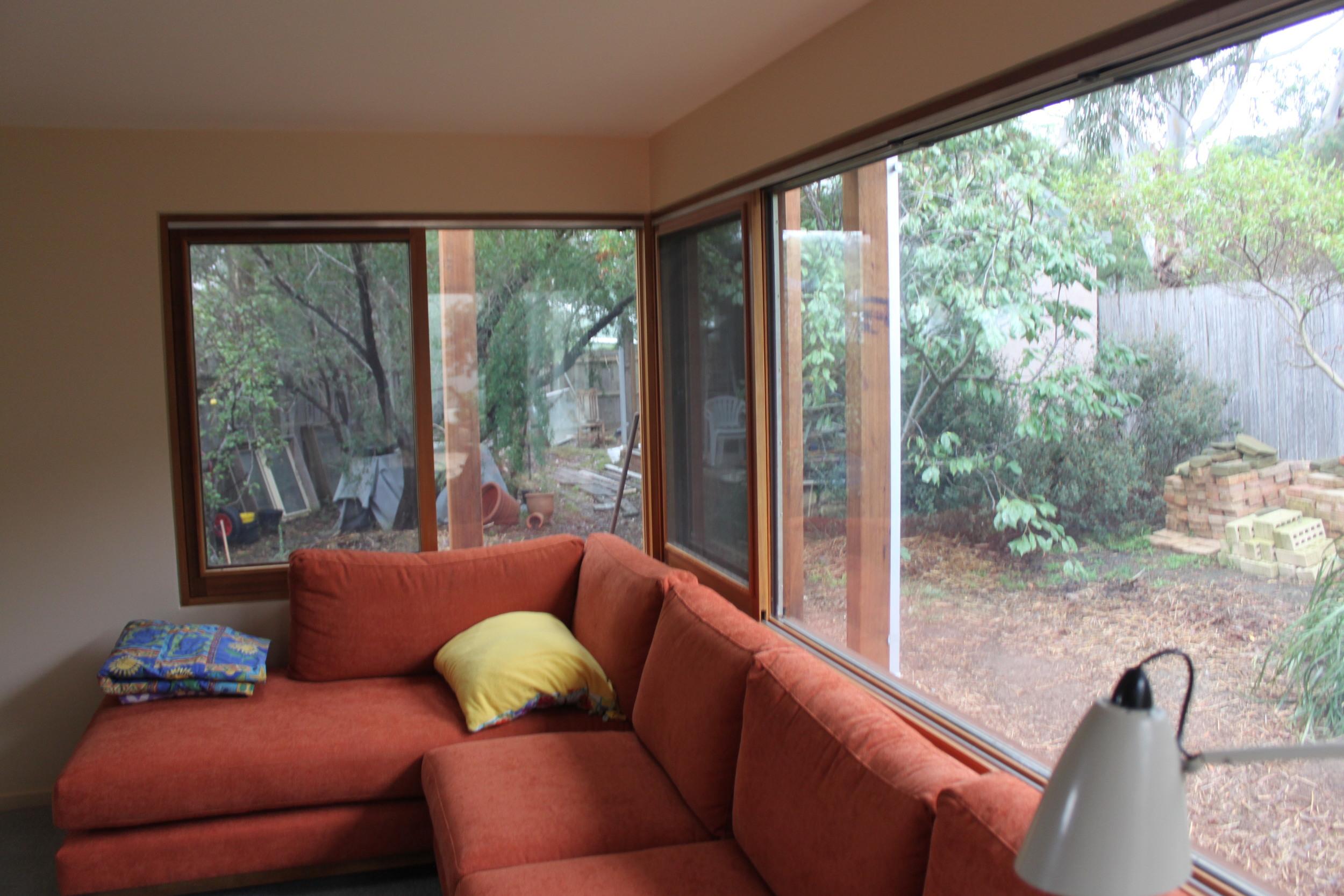 Ground floor sitting room extension
