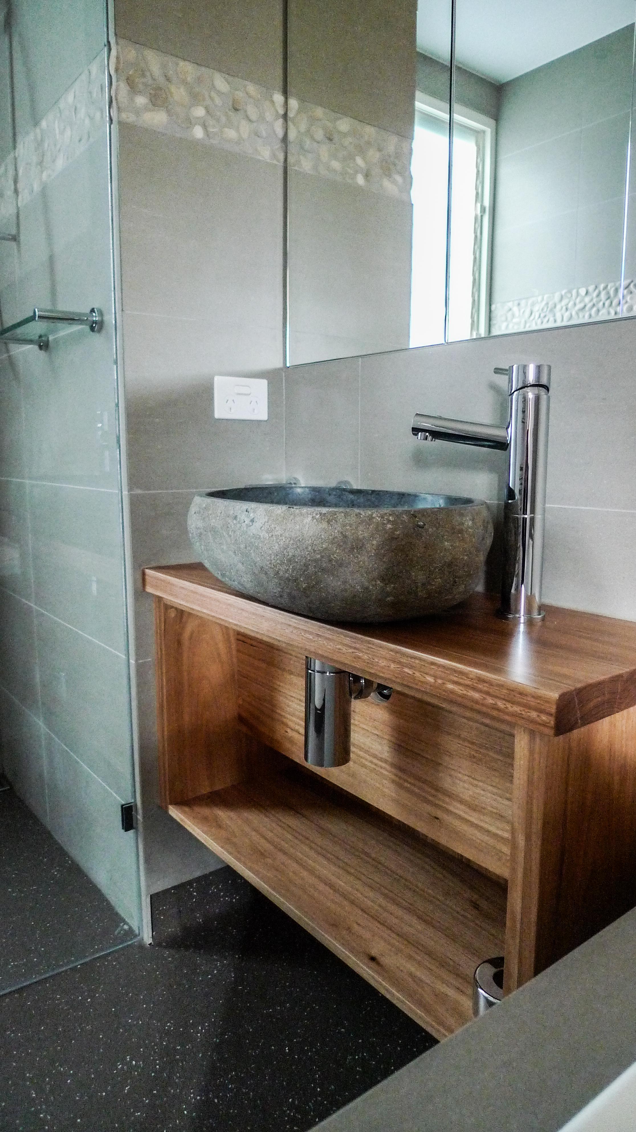 Bathroom vanity detail