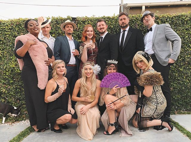 The best birthday party a girl could ask for. I am so thankful for this incredible group of friends who always shower me with love. Thank you guys for being there & a huge thank you to my husband who planned the murder mystery night of my dreams.